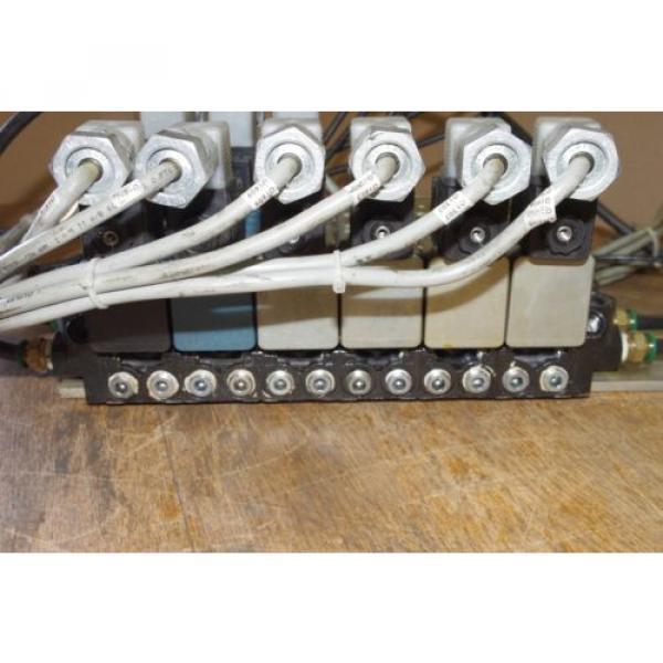 Rexroth Ceram 6-Valve Air Control Manifold GT10061-2440 GT10032-2626 #6 image