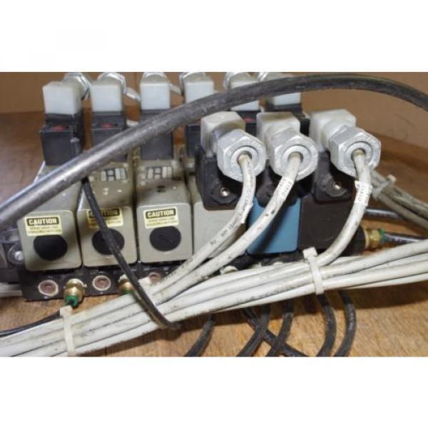 Rexroth Ceram 6-Valve Air Control Manifold GT10061-2440 GT10032-2626 #7 image