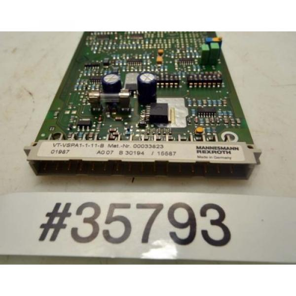 Rexroth Australia Russia Amplifier Card VT-VSPA1-1-11-B (Inv.35793) #3 image