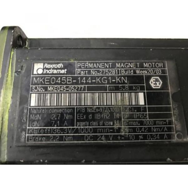 Rexroth Mexico France MKE045B-144-KG1-KN #2 image