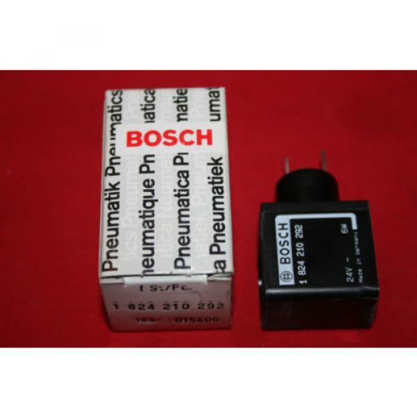 Origin Bosch Rexroth Solenoid Valve Coil 24VDC - 1 824 210 292 - 1824210292 - BNIB #1 image
