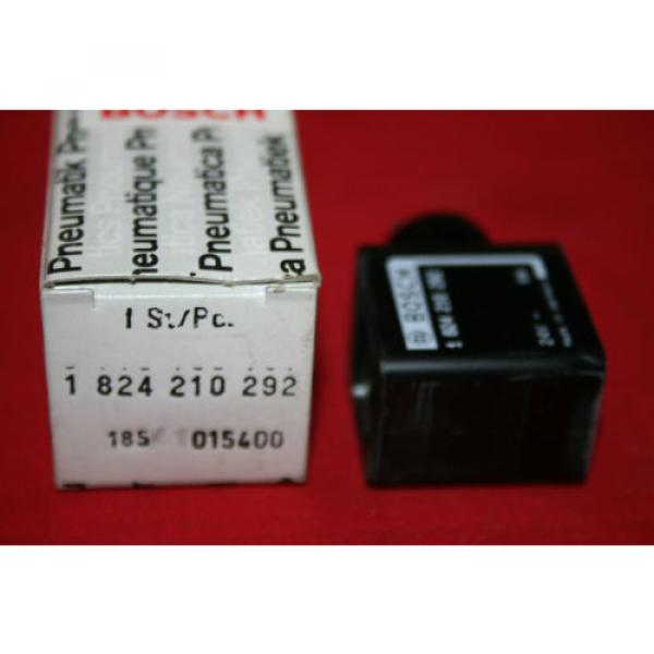 Origin Bosch Rexroth Solenoid Valve Coil 24VDC - 1 824 210 292 - 1824210292 - BNIB #2 image