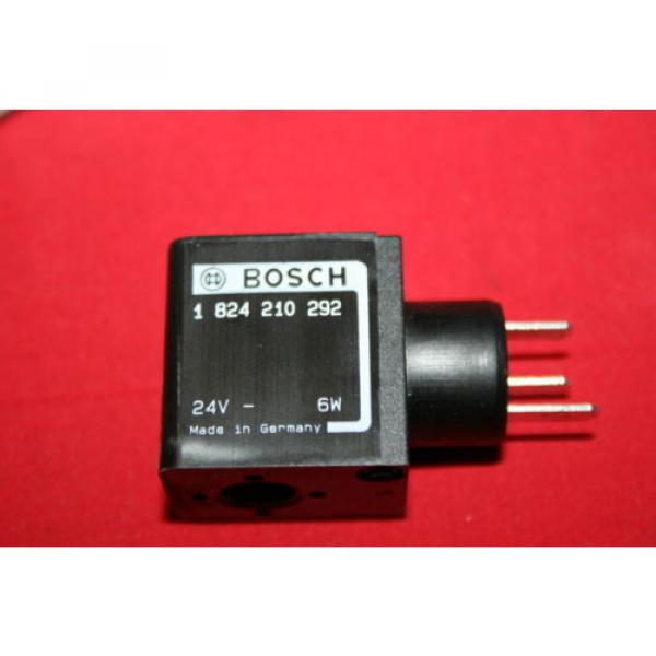 Origin Bosch Rexroth Solenoid Valve Coil 24VDC - 1 824 210 292 - 1824210292 - BNWOB #1 image