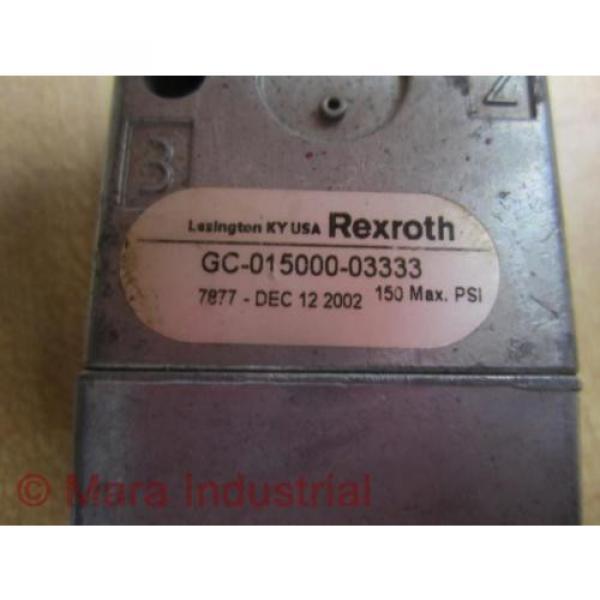 Rexroth GC-015000-03333 Directional Valve GC01500003333 - origin No Box #2 image