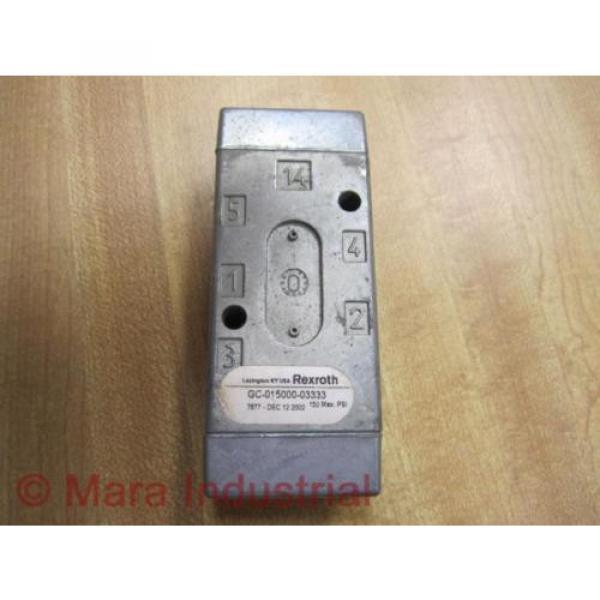 Rexroth GC-015000-03333 Directional Valve GC01500003333 - origin No Box #3 image