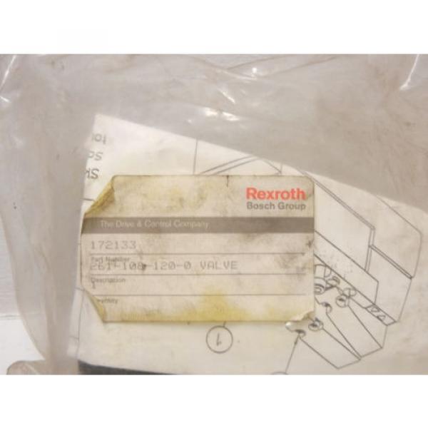 REXROTH BOSCH 261-108-120-0 Origin PNEUMATIC VALVE 2611081200 #2 image