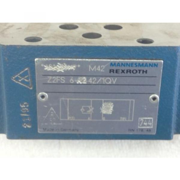 NEW! France Italy  REXROTH Z2FS-6-A2-42/1QV  HYD THROTTLE CHECK VALVE  FAST SHIP!!! (A139) #2 image