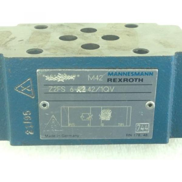 NEW! France Italy  REXROTH Z2FS-6-A2-42/1QV  HYD THROTTLE CHECK VALVE  FAST SHIP!!! (A139) #3 image