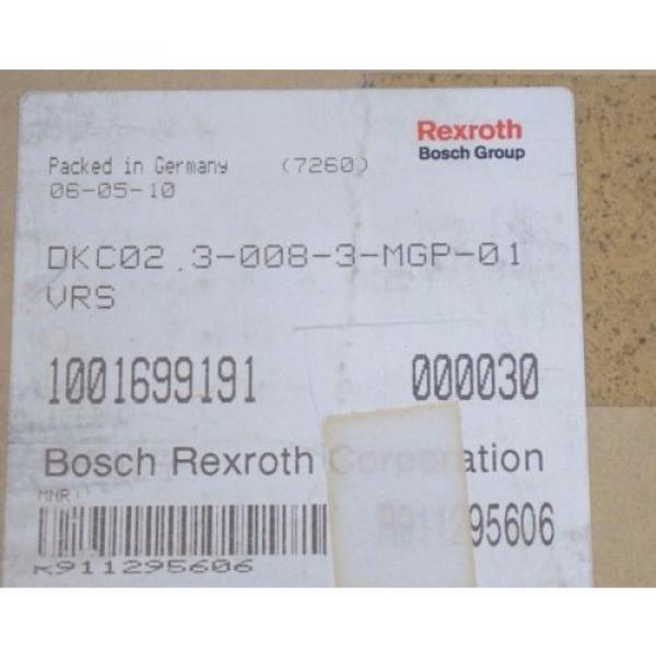 NEW Canada Greece REXROTH DKC02.3-008-3-MGP-01VRS SERVO DRIVE DKC0230083MGP01VRS #2 image