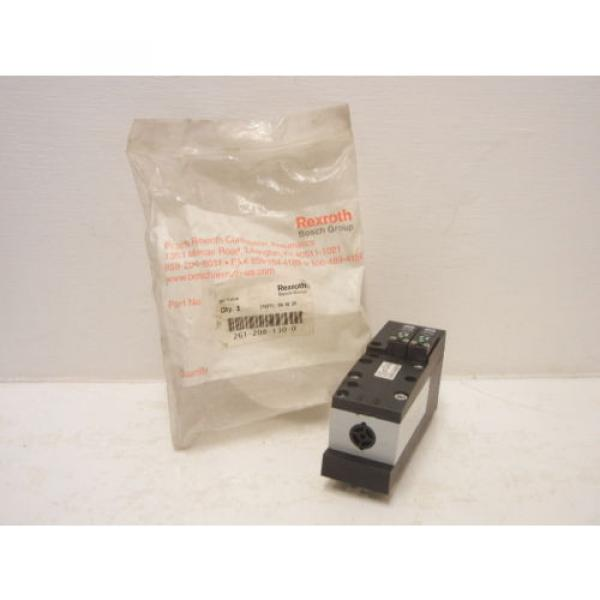 REXROTH China India BOSCH 261-208-130-0 NEW 261 PNEUMATIC VALVE 2612081300 #1 image