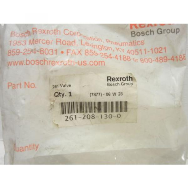 REXROTH China India BOSCH 261-208-130-0 NEW 261 PNEUMATIC VALVE 2612081300 #3 image