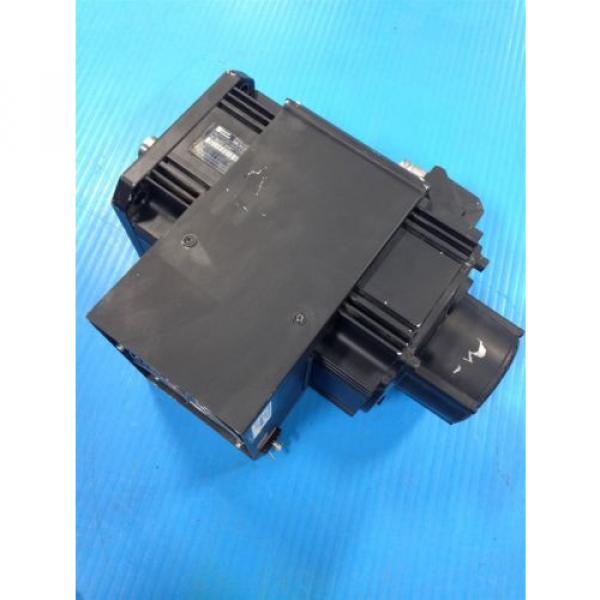REXROTH China Japan INDRAMAT MKD112B-058-KG0-AN MOTOR & LEM-RB112C2XX COOLING FAN USED (2F) #1 image