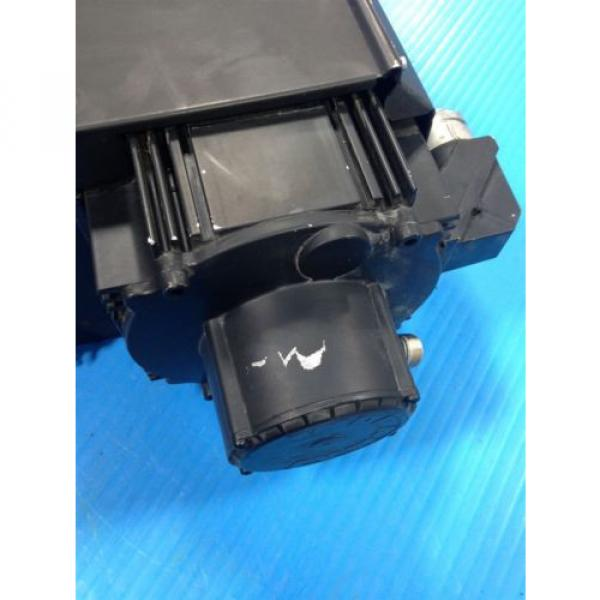 REXROTH China Japan INDRAMAT MKD112B-058-KG0-AN MOTOR & LEM-RB112C2XX COOLING FAN USED (2F) #4 image