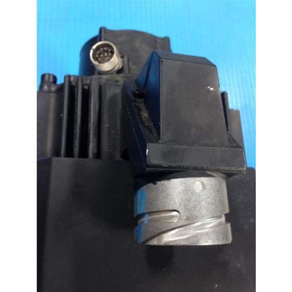 REXROTH China Japan INDRAMAT MKD112B-058-KG0-AN MOTOR & LEM-RB112C2XX COOLING FAN USED (2F) #5 image