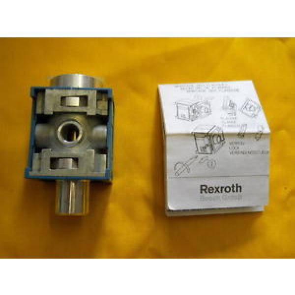 C4 EMERGENCY STOP VALVE REXROTH 5351600500 solenoid or air control #1 image