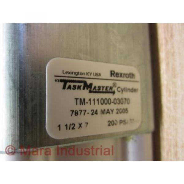 Rexroth Italy Greece TM-111000-03070 Cylinder - Used #2 image