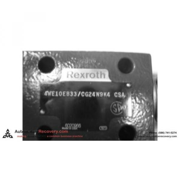 REXROTH Mexico Italy 4WE10EB33/CG24N4K4QM0G24 DIRECTIONAL CONTROL VALVE, NEW* #121041 #2 image