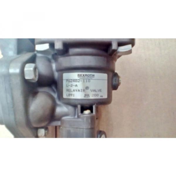 Rexroth Japan USA RelayAir ValveP62482-110 R431006065 #3 image