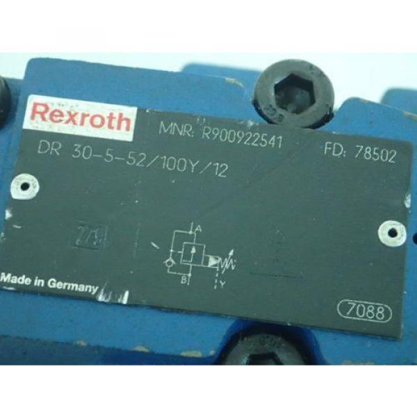 Origin REXROTH R900922541, DR 30-5-52/100Y/12 HYDRAULIC VALVE,BOXZK #2 image