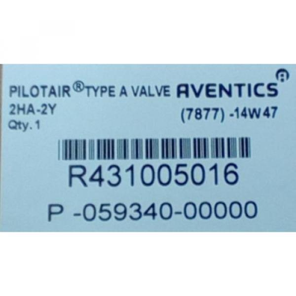 Rexroth Dutch Canada R431005016, 2-HA-2Y PILOTAIR VALVE FOUR-WAY P59340 #2 image