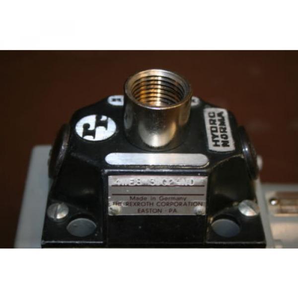 Directional France Greece valve 4 port Hydraulic 4WE8Y3 24 VDC Rexroth Unused #3 image