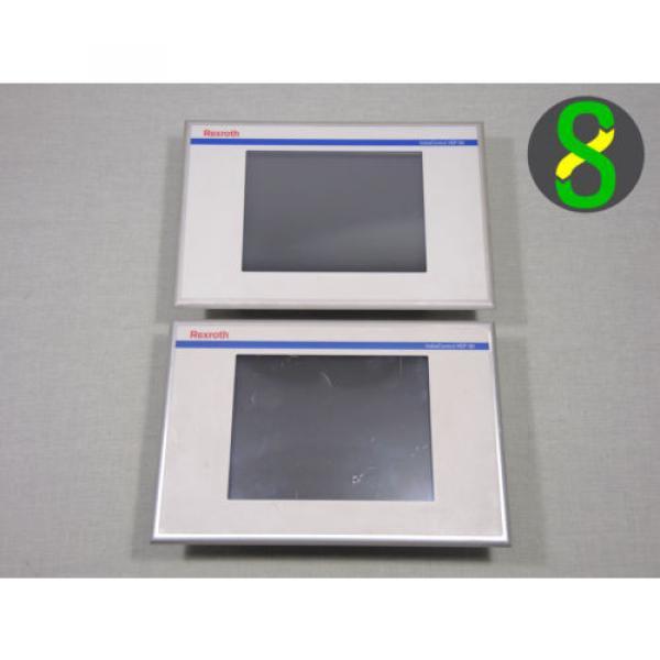 Bosch Germany France Rexroth panel HMI IndraControl VEP 30, VEP30.1CCN, 1x working, 1x defekt #1 image