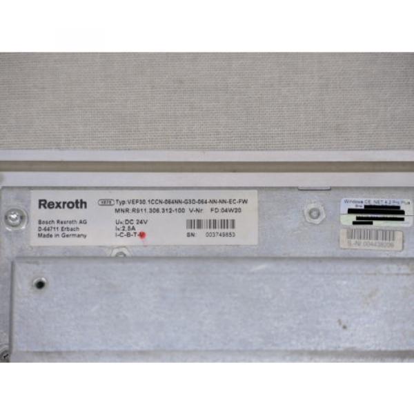 Bosch Germany France Rexroth panel HMI IndraControl VEP 30, VEP30.1CCN, 1x working, 1x defekt #8 image