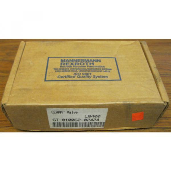 Rexroth Mecman CERAM Valve GT-010062-02424 #1 image
