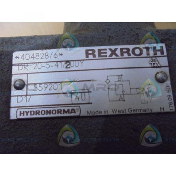 REXROTH  DR20541/200Y  VALVE USED #1 image