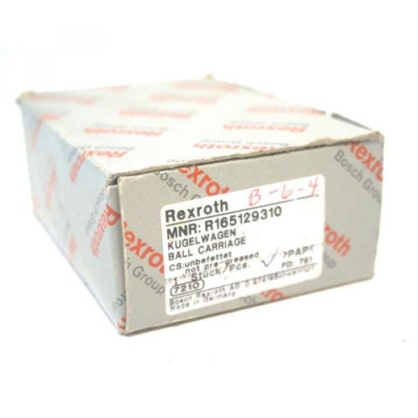 NEW Russia USA REXROTH R165129310 BALL CARRIAGE #1 image