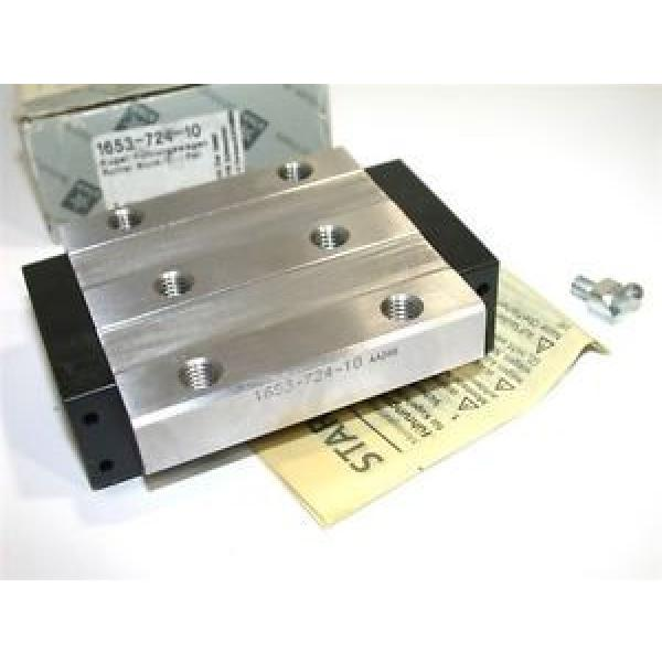 Origin REXROTH STAR LINEAR SLIDE RUNNER BLOCK 1653-724-10 #1 image