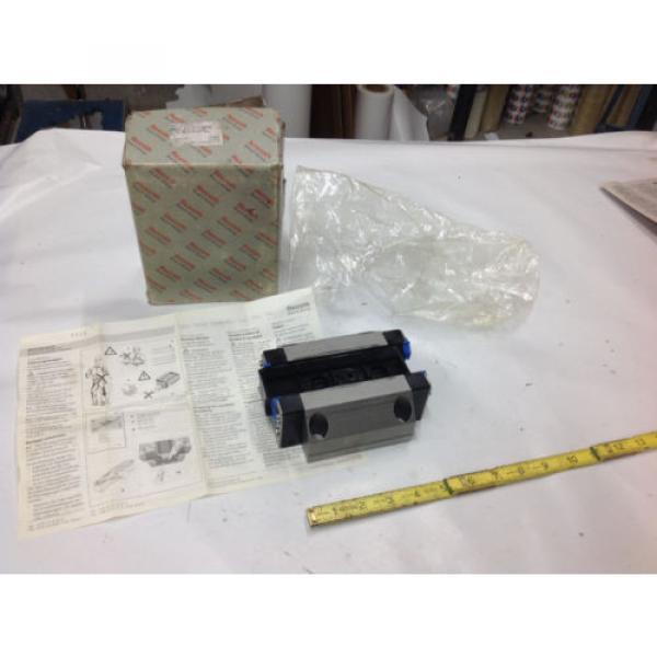 Rexroth R185143210 Linear Runner Block Roller Rail   Origin IN BOX #1 image