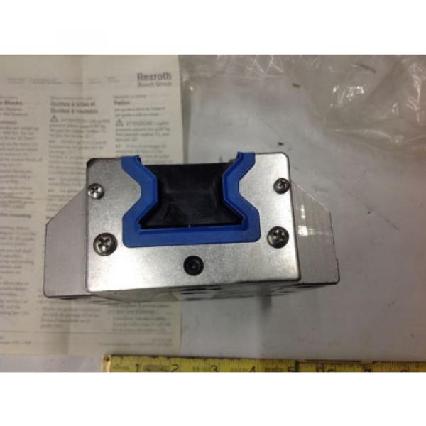 Rexroth R185143210 Linear Runner Block Roller Rail   Origin IN BOX #4 image