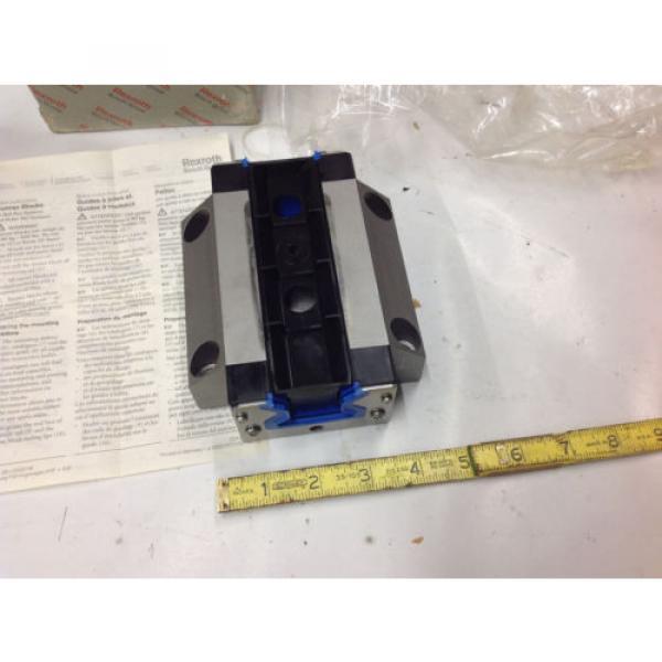 Rexroth R185143210 Linear Runner Block Roller Rail   Origin IN BOX #6 image