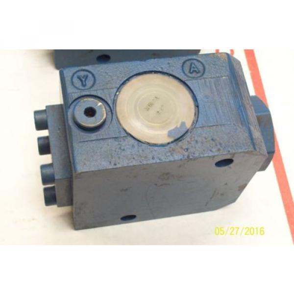 Origin REXROTH HYDRAULIC CONTROL VALVE SV 20 GA 1-42 #3 image