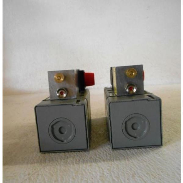 BOSCH REXROTH 1824210223 VALVES, PE MAX 10 BAR, 48V, 24 VDC, LOT OF 2, Origin #5 image