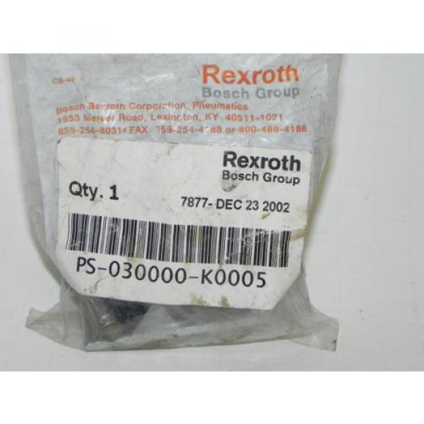 REXROTH PS-030000-K0005 CD-7 DIRECTIONAL VALVE KNOB KIT Origin PS030000K0005 #1 image