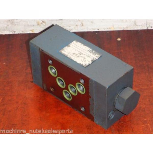 Rexroth Flow Control Valve Z2SRK 10-1-11/V _ Z2SRK10111V #2 image