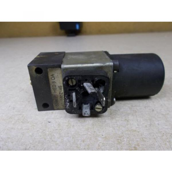 Mannesmann Rexroth 534635 11 /350Z14S Solenoid Valve FREE SHIPPING #1 image