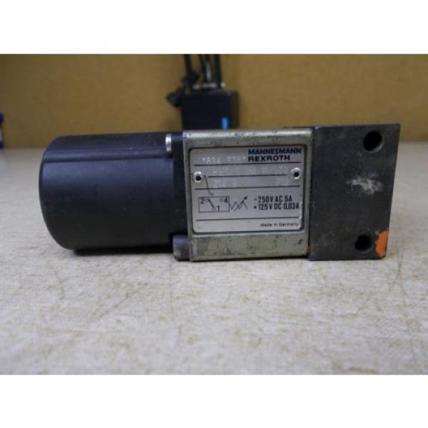 Mannesmann Rexroth 534635 11 /350Z14S Solenoid Valve FREE SHIPPING #2 image