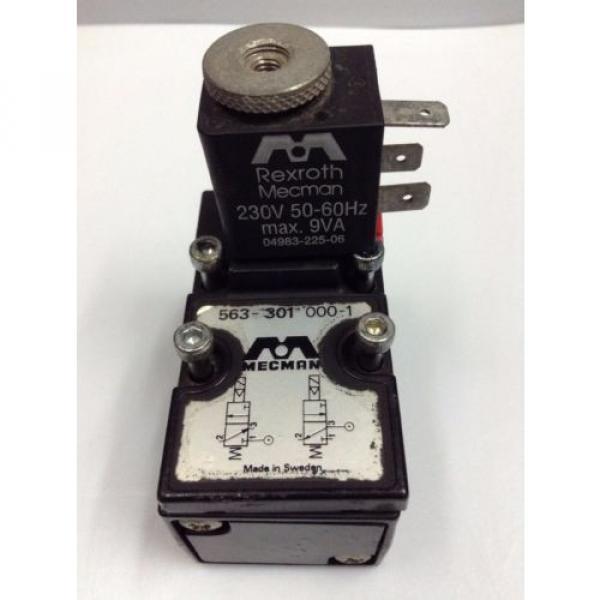 Mecman Rexroth Solenoid Valve, 5633010000 4V3 BASIC MOD EL-VALVE 563 MOD 2 #1 image