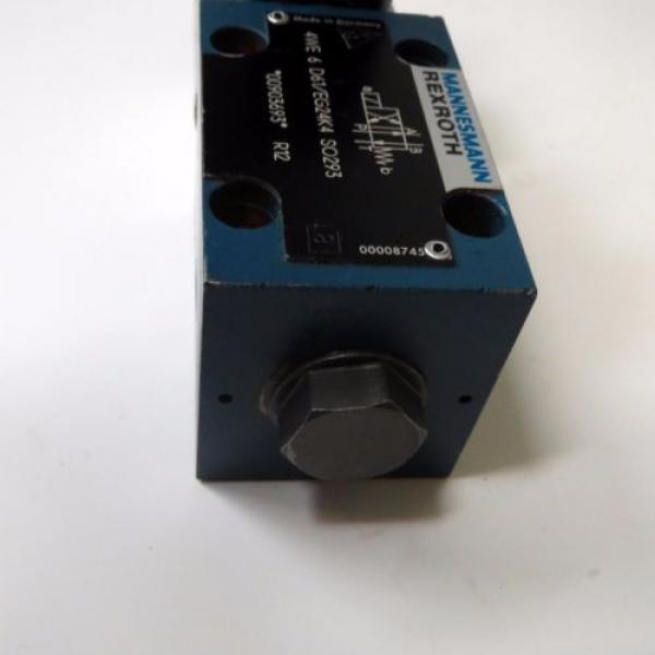 Mannesmann Rexroth 4WE 6 D61/EG24K4 SO293 Hydraulic Directional Valve 350bar #3 image