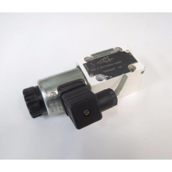 Mannesmann Rexroth 4WE 6 D61/EG24K4 SO293 Hydraulic Directional Valve 350bar #8 image