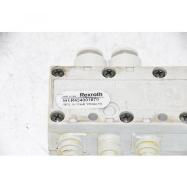 BOSCH REXROTH R434001870 Solenoid Valve, 24VDC, 21W #3 image