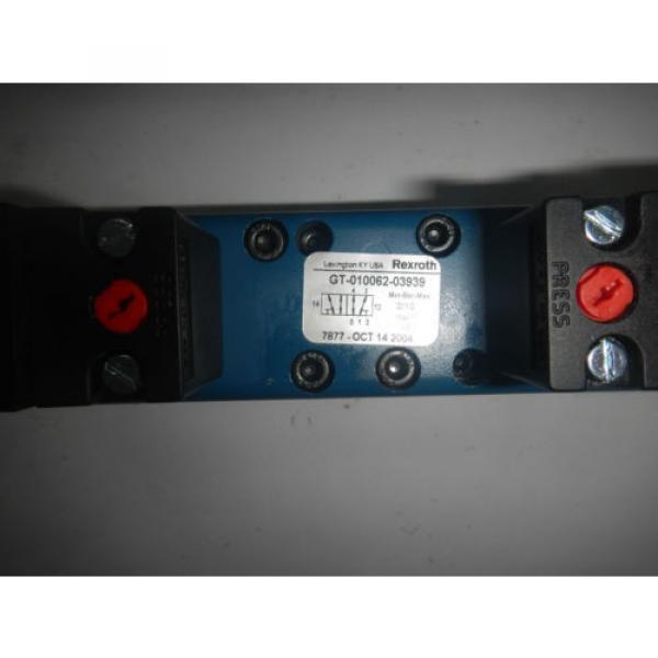 Rexroth GT010062-03939 Pneumatic Valve #2 image