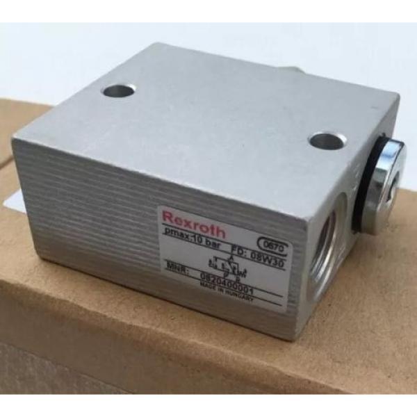 0820400001 0 820 400 001 Bosch Rexroth Pneu Air Valve, 3/2, Mech Plunger #2 image