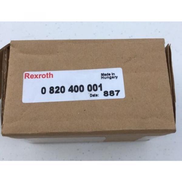 0820400001 0 820 400 001 Bosch Rexroth Pneu Air Valve, 3/2, Mech Plunger #7 image