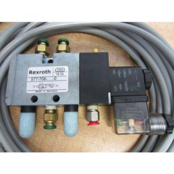 Rexroth Bosch Group 577-706-022-0 Solenoid Operated Valves - Used #7 image