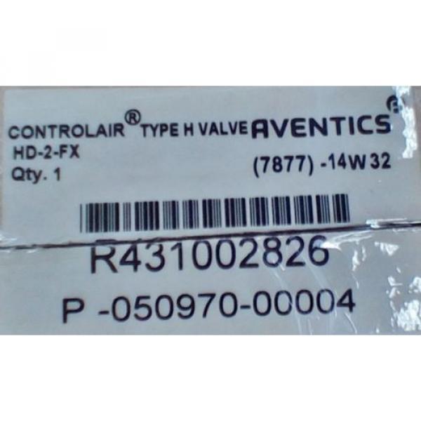 Rexroth ControlAir Valve Model HD-2-FX R431002826 P50970-4 #3 image