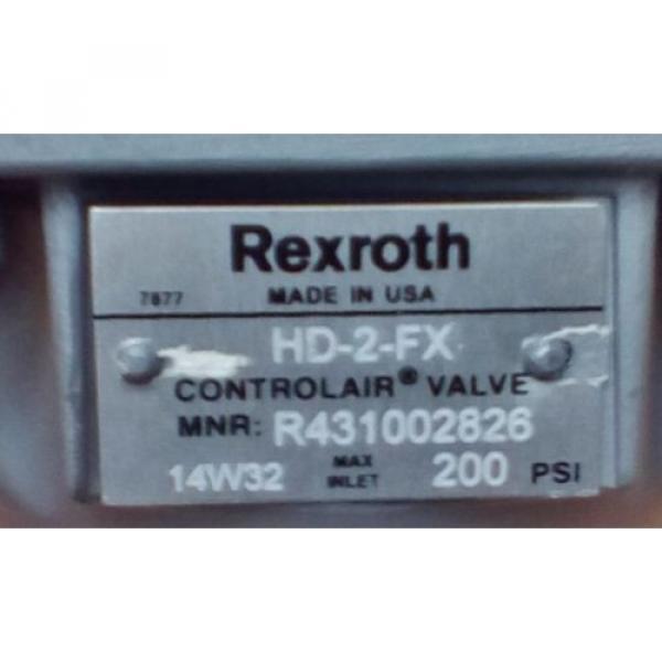 Rexroth ControlAir Valve Model HD-2-FX R431002826 P50970-4 #4 image